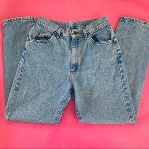 "Vintage L. L. Bean high-rise ""mom"" jeans, 28"